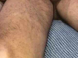 Naughty Indian Wife getting used while Hubby films