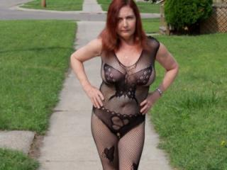 Pussy in Public Pt. 2 (Redhot Redhead Show)