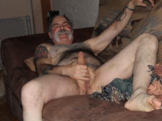 nude around the house
