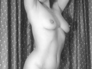 More of Yvonne nude in black and white