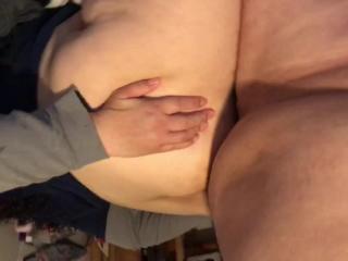BBW wife anal