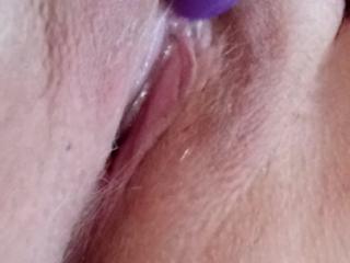 Disgustingly wet disgusting slut shows her disgusting cunt