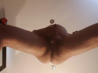 Playing around naked