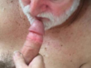 Face fucking an older man.