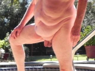 21 Oct 2016 outside nude and enjoying the Texas Sunshine.