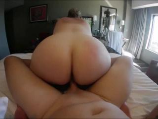 Bouncing BBW tits