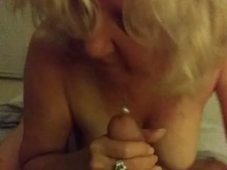 Witch Julie blowing the neighbors husband 4 of 6