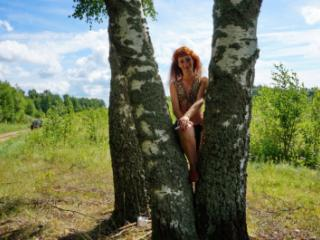 Red Hair and Birch non-nude