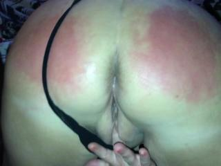 fingering pussy and ass