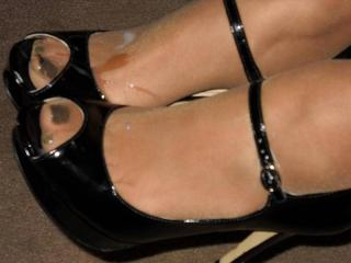 Consider, that Under my pantyhose feet really