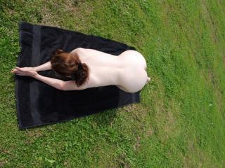 Nude in public park 15 of 20