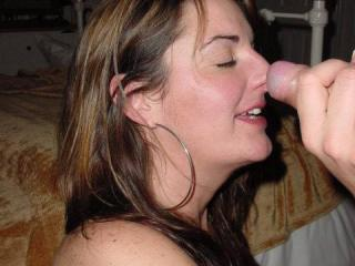 Cock in my mouth - Heaven!