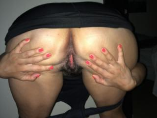 After party sexy Latin wife