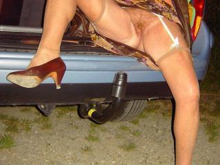 Stockings nylons legs