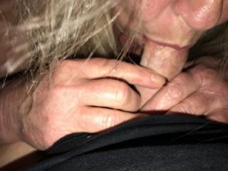 titties handjob and blowjob 11 of 12