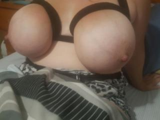 Big boobs lube and nipple suckers 4 of 13