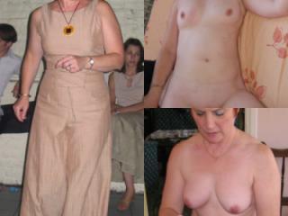 habillée nue! Dressed/naked