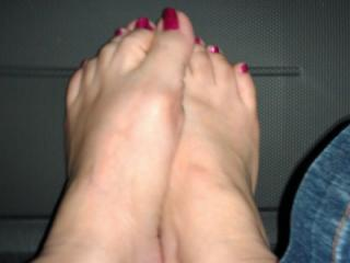 my naked feet