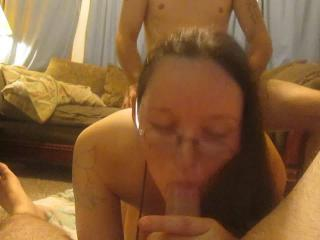 Amanda getting fucked hard by her bull pt. 2
