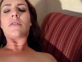 Alicia Restrained and Cumming Again!