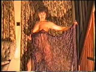 Naked veil dance
