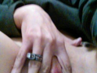 The wife flashing