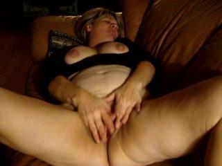 Super horny Jill masturbating 1