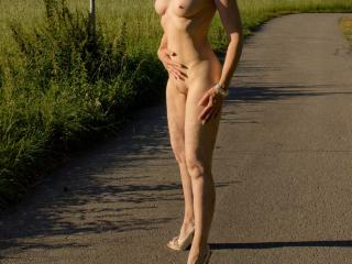 outdoor fun naked