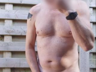exhibitionist public outdoor jerkoff session with edging cumshot 1st cam