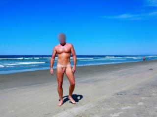 Vacation trip to nude beach