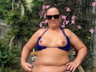 White or Blue Bikini?