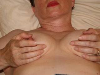 My Slut Wife in Her Denim Skirt 6 of 13