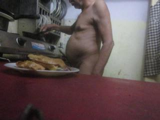 Nude coking