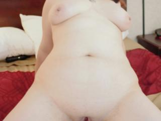 Chubby wife strips then gets fucked