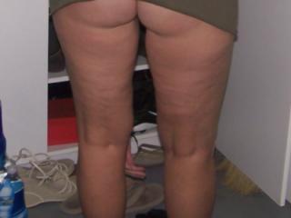 Big ass li ski!Bid ass little skirts!