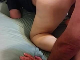 Eating her ass out