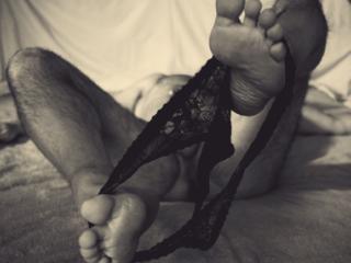 Skimpy Black Panties