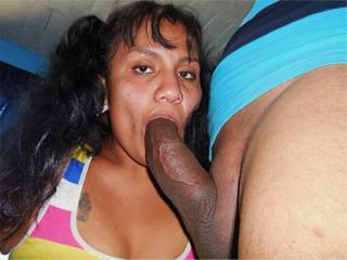 Sucking my cock 16