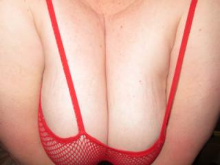 Red Body Stocking