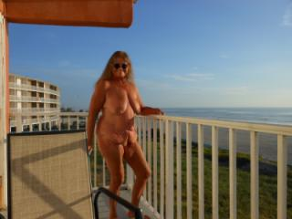 Flashing on vacation in Florida!