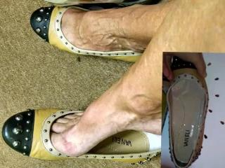 mature foot shoe fetish tribute