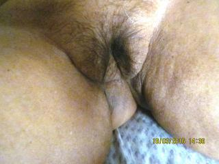 Hairy pussy in its style