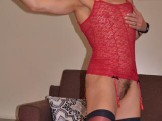 red bustier and stockings2 20 of 20