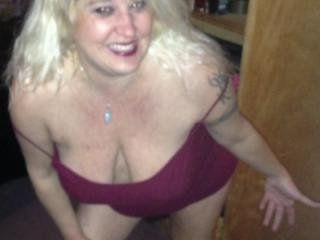 Hot Blonde Milf and Her Magical Tits