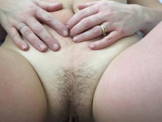 Hot wife posing nude