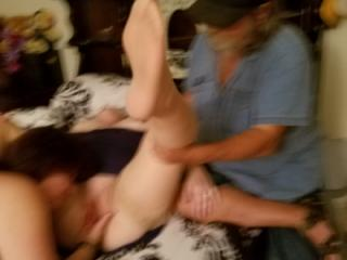 Miss angie wanted to fuck me