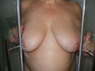 Shower Clean and Cum Cunt