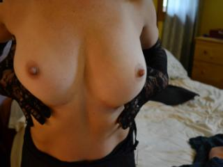 Please rate my boobs... On a scale from 1 load to 10 loads? ;)