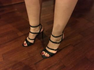 Going for a walk in heels