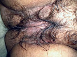 My very hairy cunt!